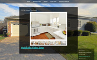 Website design includes photo slideshow