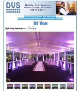 Event Lighting services from DVSDJ.com